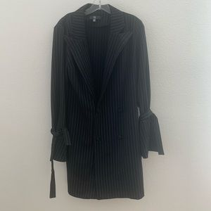 Missguided Dresses - Missguided blazer striped dress size 6 cute new